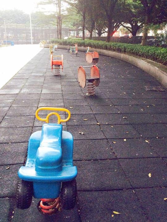 在澳門,只有功能單一的兒童遊樂區