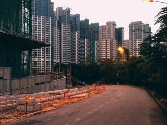城市早以習慣將土地變成了一種商品。