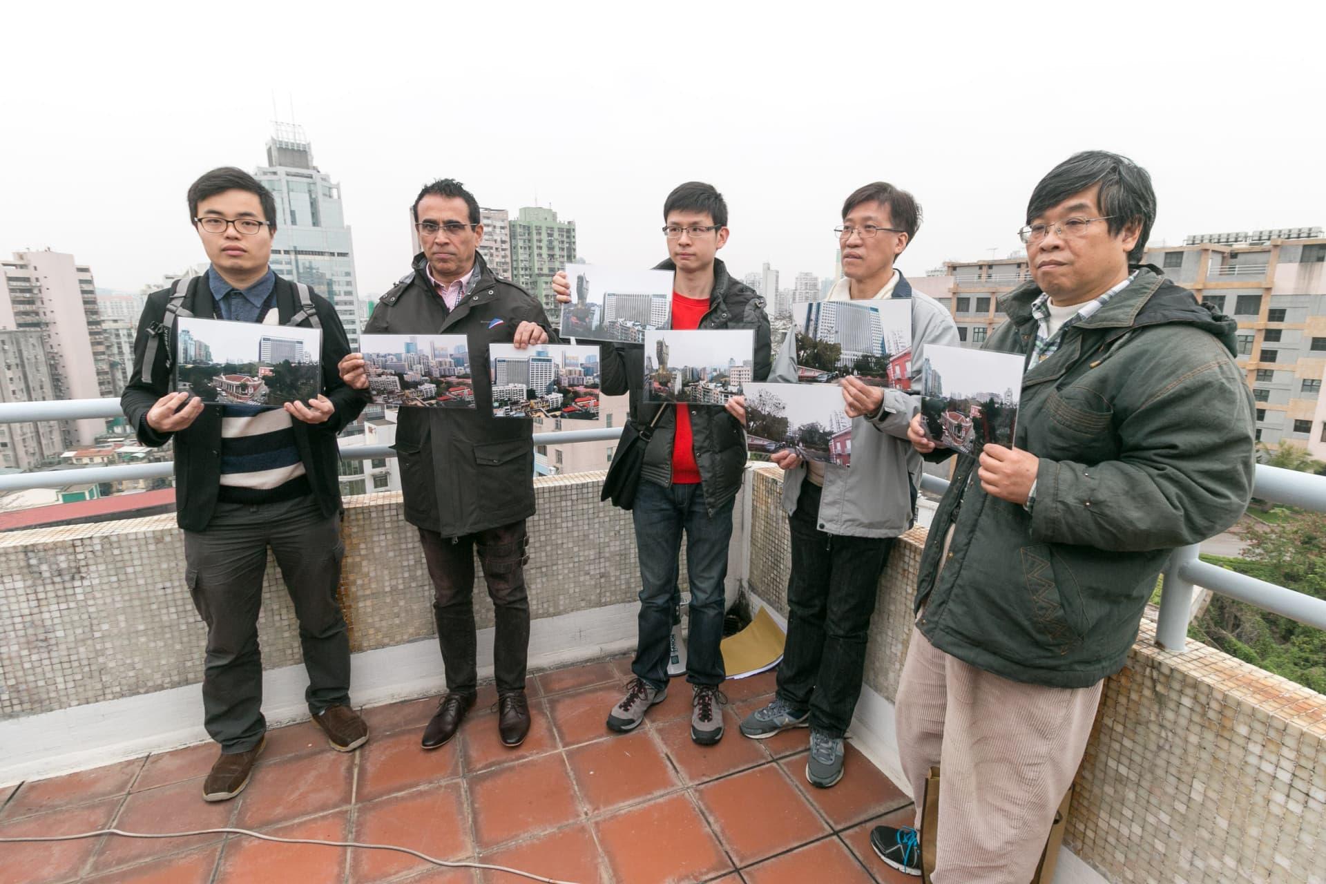 立法議員高天賜、區錦新、吳國昌及學社理事長鄭明軒都有參與視察。
