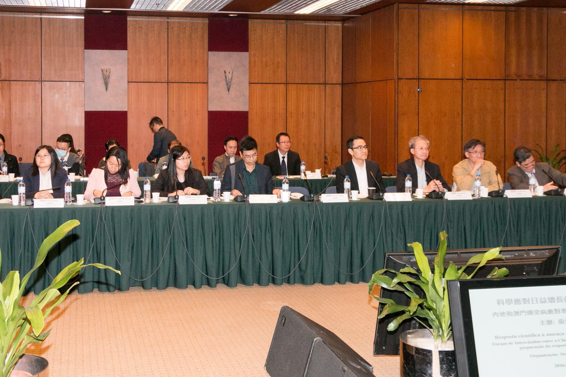 立法會議員列席論壇