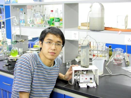 林宇滔大學時期就讀環境工程