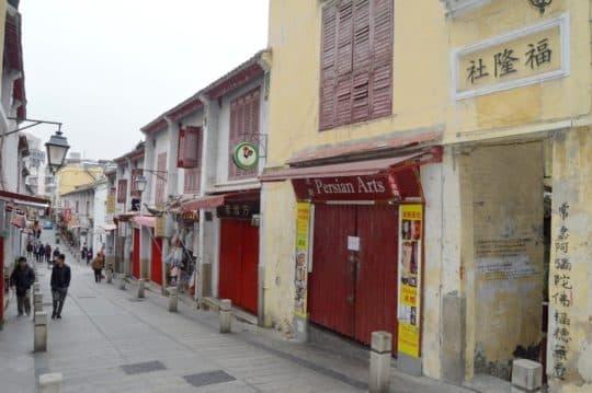福隆新街是中國少有保存完好的青樓建築。(資料圖片)
