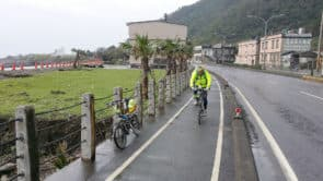 和平谷的單車友在台灣環島中