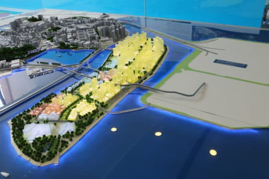 業界冀在新城A區或港珠澳大橋人工島打造大型物流中心