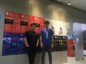 左起:鄺華歡(行政總監)、譚智泉(藝術總監)