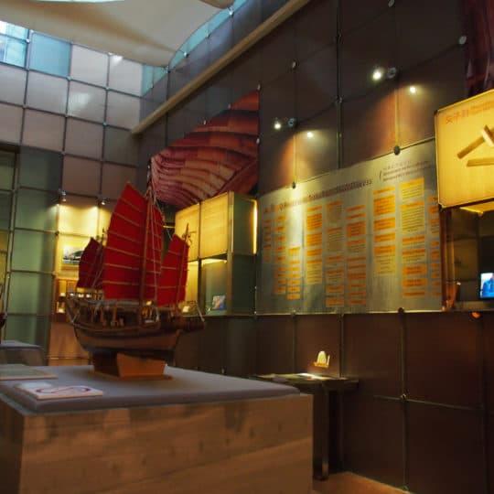 歷史檔案館的《規矩與準䋲》展覽(相片由談駿業提供)
