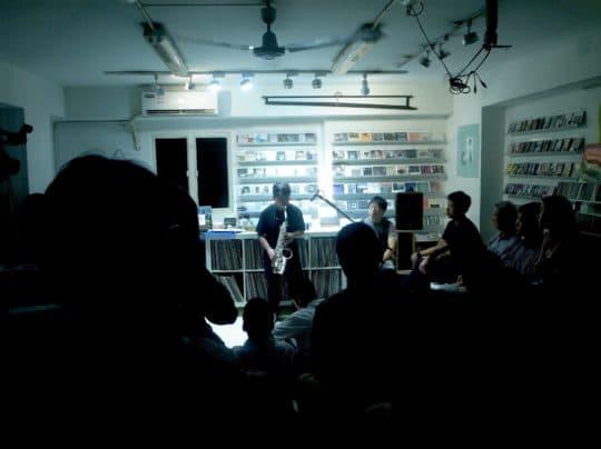 「边度・有音樂」一直堅持舉辦音樂活動,圖為「The Abandoned Sounds-Hugo Loi (呂瀚章) Saxophone 獨奏會2015」
