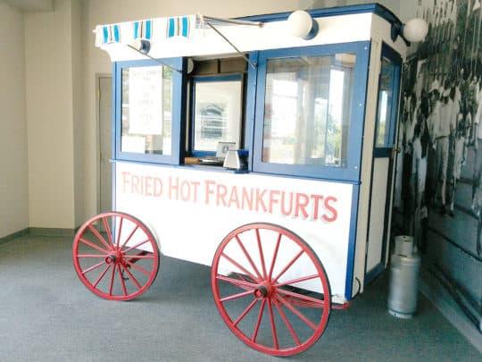 美國舊式流動熱狗車