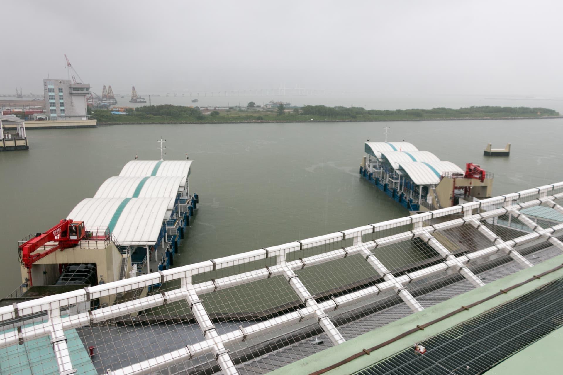 氹仔客運碼頭將設有16個400人客船泊位以及3個多功能泊位