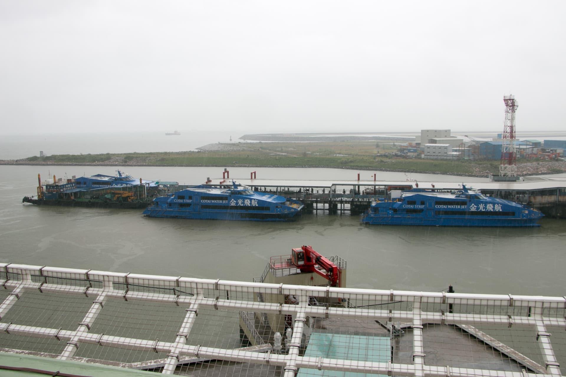 氹仔臨時客運碼頭將在新碼頭啟用後關閉改建