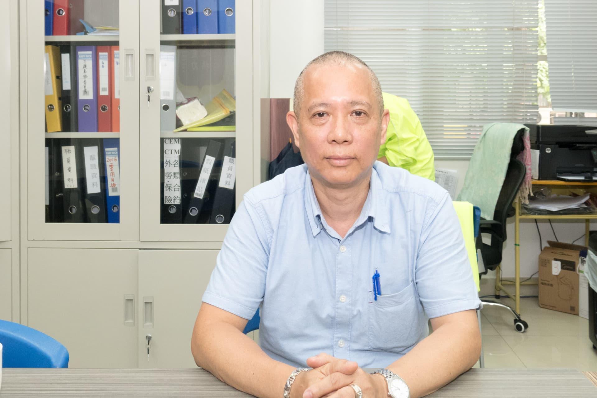 城規會委員、民眾建澳聯盟理事長陳德勝