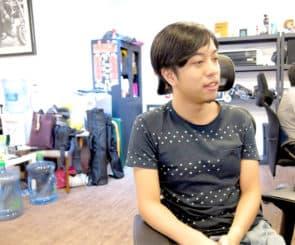 多媒體設計師陳子揚同時也是紀錄片導演,去年作品《字裡城間》紀錄澳門街道上出現的字體及字體美學。