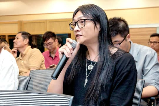 林納麟多次參與新城規劃諮詢會,為新城發聲。
