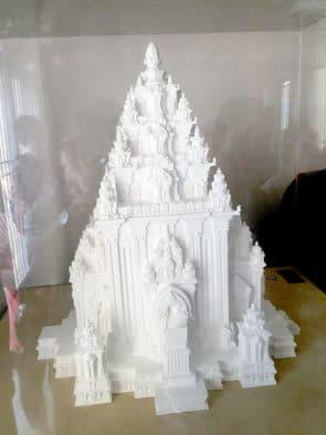 占婆雕塑博物館,陳列占婆時代林邑人的宗教建築物文物。