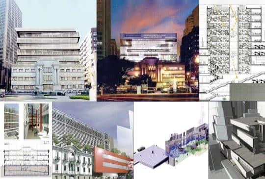 2008年7月「澳門新中央圖書館建築概念設計邀請賽」評選結果出爐,評審委員會從27份合資格的參賽方案中選出(首行由左至右)一等獎(黃文靜)、二等獎(黃文靜)、三等獎(趙維通)及(下行由左至右)四份入圍獎(Maria Carlota Proença de Almeida、Carlos Alberto dos Santos Marreiros、黃雄溪和陳浩明),一入圍獎從缺。新中圖設計比賽一等獎作品在當時有指賽果早以內定,惹來專業人士、網民強烈質疑,有指得獎者是負責前期諮詢工作的工程規劃公司的職員,有利益衝突之嫌。(資料來源:http://novabc.icm.gov.mo/)