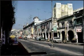 1973年代的內港街道(圖片來源:Karsten Petersen)。