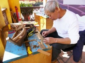 溫泉認為「澳門號」若能復修,將有助推廣本地造船文化