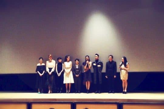澳門電影《骨妹》一眾演員及導演出席「澳門國際影展暨頒獎典禮」首映。(攝影:小鳥)