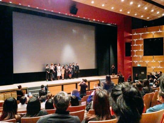 澳門電影《骨妹》一眾演員及導演出席「澳門國際影展暨頒獎典禮」首映。