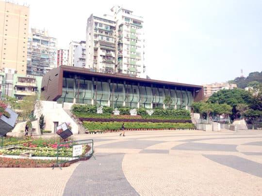 塔石廣場玻璃屋