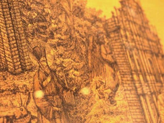 霍凱盛的新作品中有他所喜愛的澳門歷史中的人事物,從中反映他對城市的觀照。