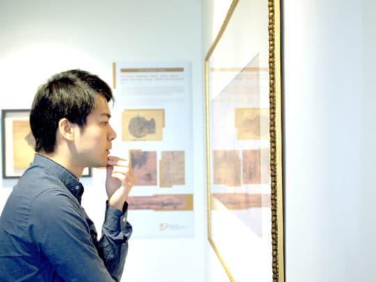 霍凱盛目前正有一個展覽在南灣湖旅遊學院的咖啡店內進行。