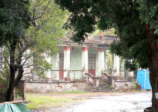 位於九澳聖母馬路的聖母村建築物,以往小屋雖然都沒有翻新,但保留了古樸風味。