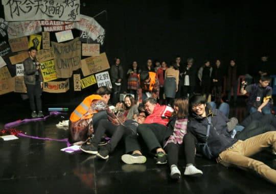 《太平盛世裡的安全演習2017》|劇照由文化局提供