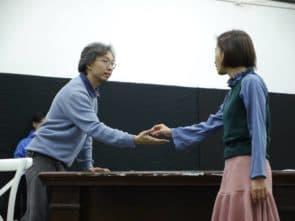「卓劇場」的葉嘉文(左)及胡美寶。