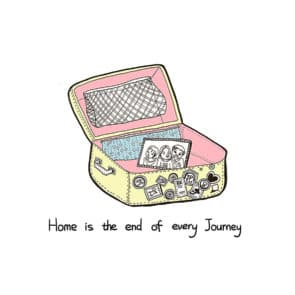 彭曉盈作品《How Are You Living》:的最後,家是每一段旅程最終的歸宿。