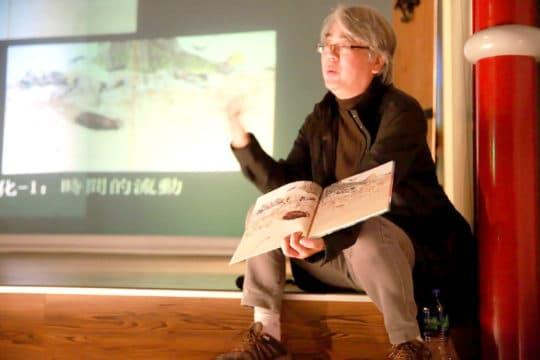 科學館「科學與藝術的纏繞」講座。