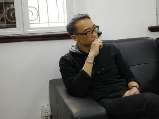 承辦營運的拍板視覺藝術團負責人朱佑人。
