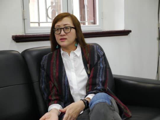 承辦營運的拍板視覺藝術團負責人Rita。