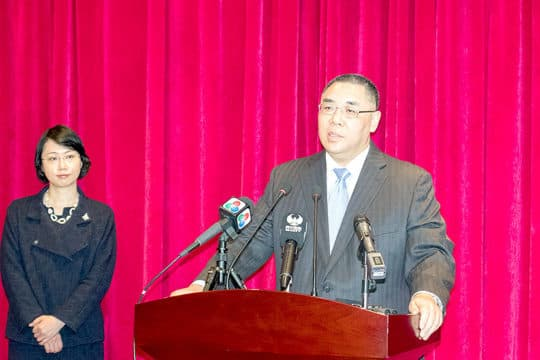 特首崔世安表示,荔枝碗船廠首重公共安全。