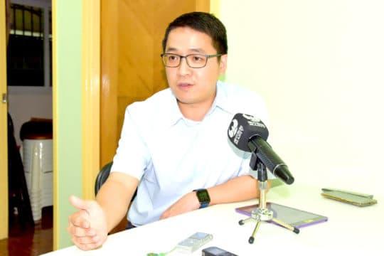 傳新澳門協會理事長林宇滔。