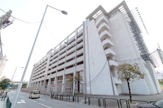 奧林匹克綜合體多層停車場地段