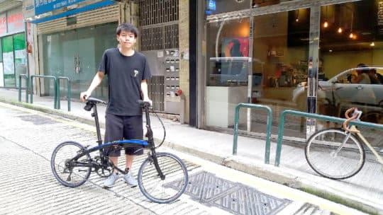 張尤聰表示,單車出行非常方便,不再擔心找車位和塞車。