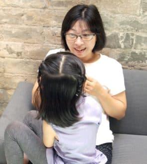 導演黃惠偵與女兒一同出席影展開幕,女兒在電影中是重要角色,也是促成整部影片的催化劑。