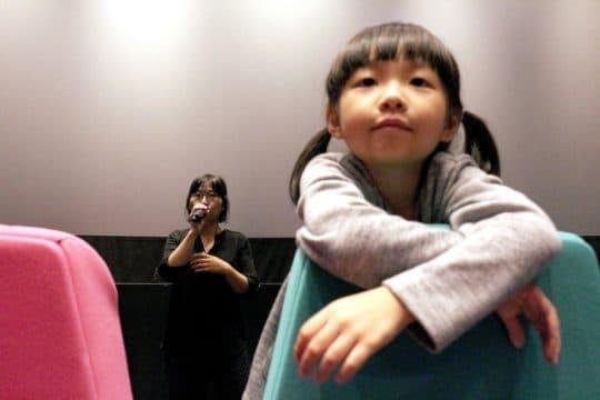 導演黃惠偵與女兒皆有出席開幕放映,並與觀眾進行映後座談。(攝影 Ngan Wa Ao)