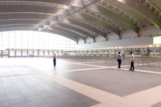 氹仔新客運碼頭耗資38億面積大如25個足球場。