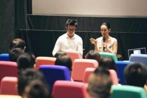 國際紀錄片電影節邀請了日本女導演河瀨直美(Naomi Kawase),出席了七月二十三日的講座《河瀨直美:記憶之森林—生死與身體的風景》,以及一場映後分享會。