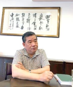 立法會副主席林香生。