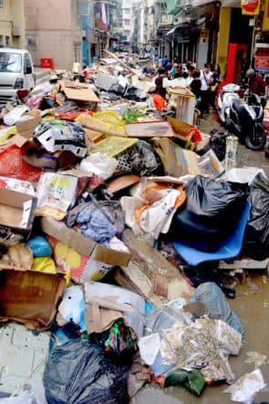 市民處理垃圾的態度卻是造成今次「垃圾圍城」的核心原因。