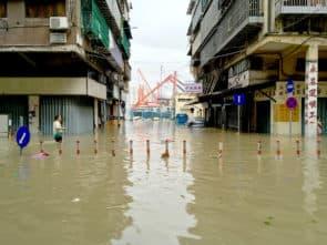 倒灌的海水,把城市佔領為海洋,這會不會就是目前人們對「海洋」最鮮活的記憶。