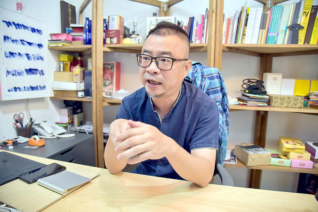 澳門設計中心執行長馮文偉(Dirco)。