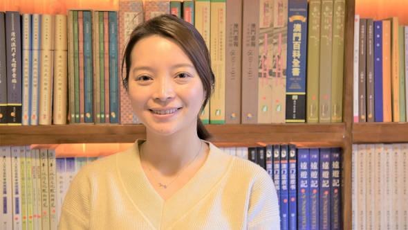 文化公所項目主任陳淑怡。
