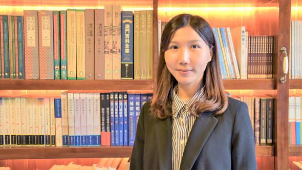 文化公所項目負責人趙香玲。