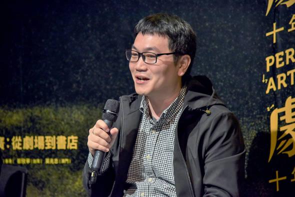 澳門故事協會副總編輯、香港國際詩歌之夜執行總監宋子江。