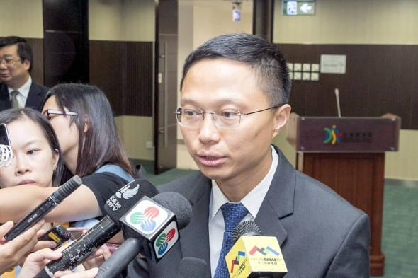 交通事務局局長林衍新(資料圖片)