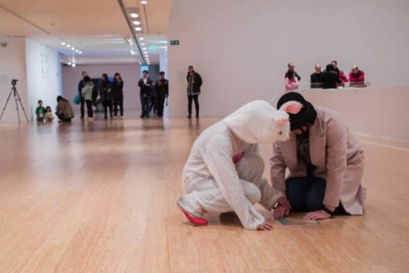 《流浪兔》,劇照由文化局提供